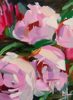 Pink Peonies no. 7 Painting