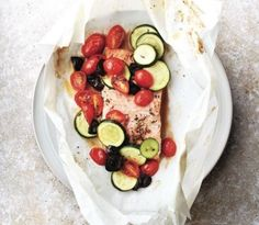 Trout provencale en papillote | 10 quick and easy fish recipes