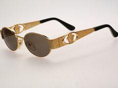 bcad6d3e1b Vintage Sunglasses Trends - Gianni Versace Mod S50 Col 030   Vintage  sunglasses   NOS
