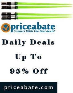 #priceabatedeals *NEW* Star Wars: Yoda Green Lightsaber Chopsticks - Buy This Item Now For Only: $13.94