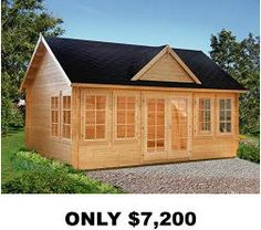 Allwood Claudia Cabin Kit   Overstock Shopping   Big Discounts On Outdoor  Storage. My She Shed