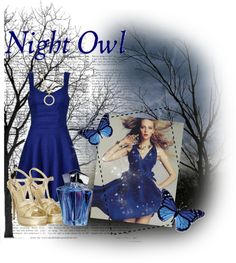 """""""Night owl"""" by goose14 ❤ liked on Polyvore"""