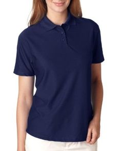 1a1e48ef UltraClub Ladies Cool and Dry Elite Performance Polo Shirt. 8414 Feel drier  protect yourself from the sun and look great doing it. micro-textured  polyester ...