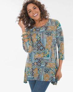 b091dee3 Petite Lace Trim Shirt | Products | Lace trim, White cotton blouse ...