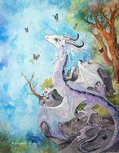 baby silver dragon