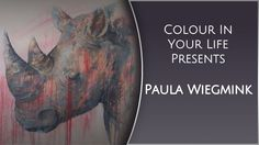 Painting Acrylic Wildlife with Paula Wiegmink | Colour In Your Life