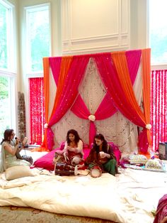 70 ideas party planning tips events Punjabi Wedding Decor, Desi Wedding Decor, Wedding Hall Decorations, Marriage Decoration, Wedding Mandap, Diwali Decorations, Backdrop Decorations, Festival Decorations, Home Wedding