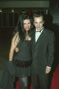 Dave Vanian (The Damned) + Patricia Morrison (Sisters of Mercy and Damned. And married! Patricia Morrison, Goth Bands, Gothic Images, Goth Music, Goth Subculture, Just Good Friends, Sisters Of Mercy, Marc Bolan, Cultural