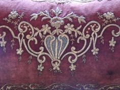 1stdibs.com | Persian Embroidery Pillow.