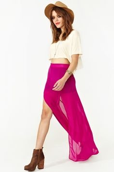 18 Best Long Pink Skirts Images In 2013 Pink Skirts