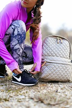 mz wallace metro backpack, #hauteofftherack, nike air pegasus, nike vintage sneakers, printed leggings, marble printed leggings, vola sports, fitness apparel giveaway, louisiana fashion blogger
