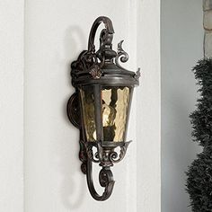 Outdoor Lighting and Light Fixtures Front Door Lighting, Outdoor Wall Lighting, Outdoor Walls, Lighting Ideas, Landscape Lighting, Vintage Wall Lights, Vintage Walls, Outdoor Wall Light Fixtures, Beautiful Front Doors