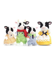 A friend gave us a hand-me-down Calico Critter House and I finally ordered us some Critters to go inside :) They're on @zulily today!