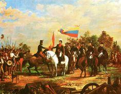 """SIMÓN BOLÍVAR RECIBE EL TITULO DE LIBERTADOR.    La BBC elogia y elige a  Simón Bolívar.   """"Con solo 47 años de edad peleó 472 batallas siendo derrotado solo 6 veces.  Participó en 79 grandes batallas, con el gran riesgo de morir en 25 de ellas.    Liberó 6 naciones, cabalgó 123 mil kilómetros, más de lo navegado por Colón y Vasco de Gama combinado.  Fue Jefe de Estado de 5 naciones.  Cabalgó con la antorcha de la libertad la distancia lineal de 6.500 kilómetros, esa distancia es…"""