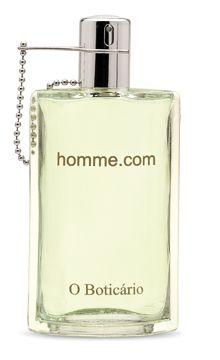 Homme.com O Boticario colônia - a fragrância Masculino