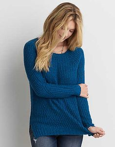American Eagle - This is way soft. Like, ahh-mazingly soft. So soft you'll never take it off.