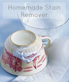 DIY homemade stain remover