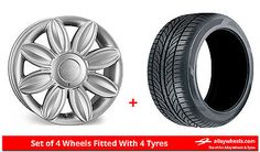 #Alloy wheels & tyres 16'' #tansy #daisy for vw golf [mk3] 5 stud 92-97,  View more on the LINK: http://www.zeppy.io/product/gb/2/381742243226/