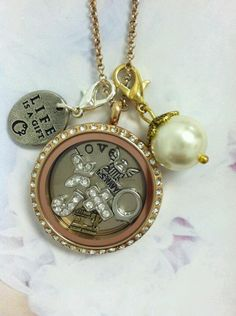 Origami Owl Lockets Custom Jewelry. Create yours to tell your story! ORDER BY CLICKING ON PHOTO http://yourcharminglocket.origamiowl.com/
