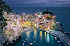 Dusk, Vernazza, Italy  | See More