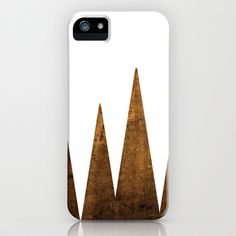 Wood trees iPhone Case by Alanna James - $35.00