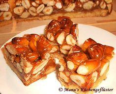 Manus Küchengeflüster: Karamell-Nuss-Würfel