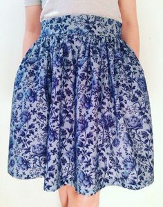 Line's Clemence skirt - sewing pattern in Love at First Stitch