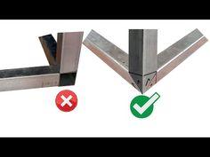 Welding Tips, Welding Table, Welding Projects, Metal Bending Tools, Metal Working Tools, Steel Furniture, Table Furniture, Metal Sheet Design, Trailer Diy