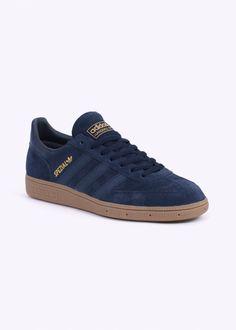 Adidas Originals Footwear Spezial Trainers - Collegiate Navy / Gum