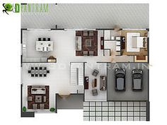 "drawingroomnyc: ""3D Offce Floor plan Design London http://ift.tt/1lseNMw """