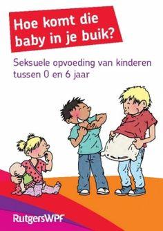 Brochure voor ouders van kinderen 0-6 jaar, met handige tips en weetjes over de seksuele opvoeding