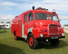 Bedford S 4x4 Fire Engine. | by Frank Hilton.