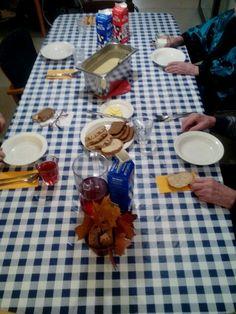 Päivällispöydässä