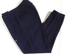 BOSS Hugo Boss jogger track men's pants size large dark navy blue NEW on SALE  #HUGOBOSS #athleticjoggerpants