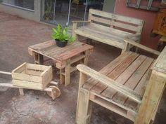 muebles de madera de palets