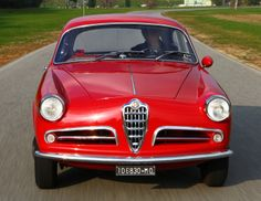 Alfa Romeo Giulietta Sprint Veloce (750) '1956–58 Maserati, Ferrari, Alfa Romeo, Fiat, Mopar, Cool Cars, Jeep, Automobile, Awesome