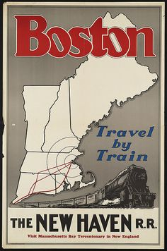 * wunderkammer *: Boston Public Library: Colección de antiguos carteles de viaje /// Sammlung von alten Reiseplakaten /// Collection of old travel posters