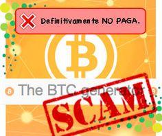 The BTC Generator: Hermana de Moon BitCoin, pero con Ratios mas altos. ~ :: DINERO para TOD@S ::