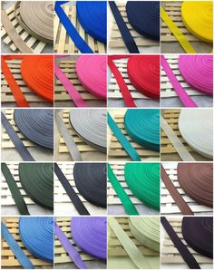 New 2 5 10 50Yards Length 1 Inch (25mm) Width Nylon Webbing Strapping many Color #Unbranded