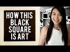 Why this Black Square is Art! Little Art Talks