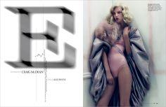 Edward Leida Design.W magazine