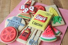 BBQ/Grilling Set   Cookie Connection