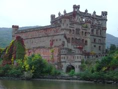 Check out Bannerman Island on the Hudson River, home to Bannerman's Castle,