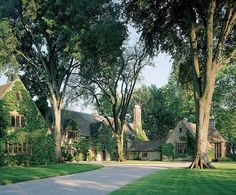 Edsel & Eleanor Ford Estate- In the mid-1920s Eleanor and Edsel Ford commissioned Albert Kahn to design their family estate in Grosse Pointe Shores, Michigan. It is now open to the public.