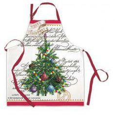 Michel Design Works - White Christmas Apron