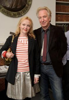"July 5, 2011 - Alan Rickman with Miranda Richardson at the ""Independent Voices 5x15: Hacked Off With Free Speech"" event in London. Rima Horton and comedian Ruby Wax also attend, though they aren't in the photo. --  Copyright © Getty Images and WireImage"