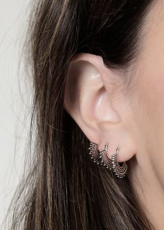 Ear Jewelry, Jewelry Box, Jewelery, Jewelry Accessories, Fashion Accessories, Body Piercings, Piercing Tattoo, Diamond Are A Girls Best Friend, Ring Earrings