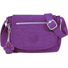 1cea4f843 Kipling Sabian U Crossbody Mini Bag ($40) ❤ liked on Polyvore featuring bags,  handbags, shoulder bags, tile purple, purple crossbody purse, kipling ...