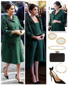 Celebrity Maternity Style, Maternity Fashion, Princess Meghan, Prince And Princess, Lady Diana, Angel Outfit, Prince Harry And Megan, Meghan Markle Style, Princess Pictures