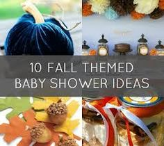 10 Fab Ideas for a Fall Themed Baby Shower - the pumpkin food cards, acorn cookies Baby Party, Baby Shower Parties, Baby Shower Themes, Baby Shower Decorations, Shower Ideas, Baby Shower Fall, Baby Boy Shower, Baby Shower Gifts, Fall Baby Showers